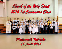 Church of the Holy Spirit 2016 First Holy Communion